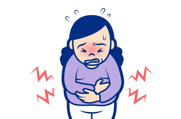 腹部の膨満感・腹痛