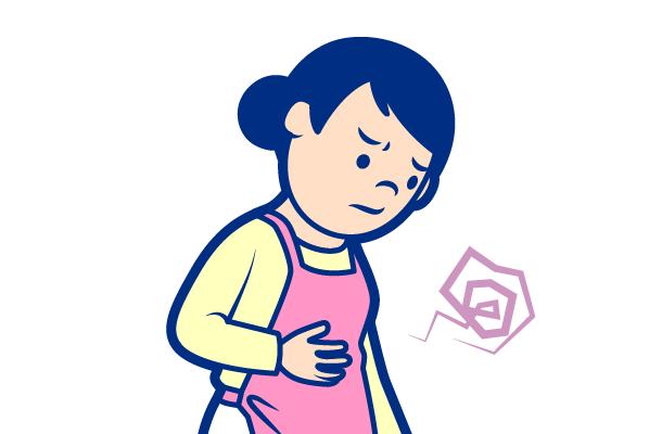 腹部の「ゴロゴロ」という異音
