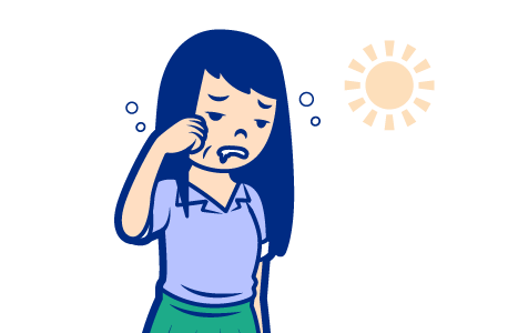 日中の倦怠感・眠気
