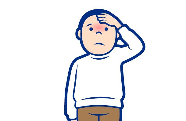 インフルエンザの症状:高熱(38℃以上)