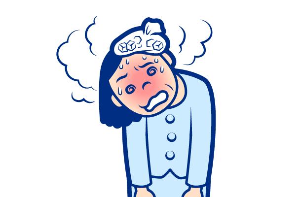 痛風の症状:発熱