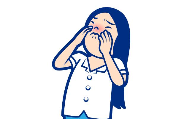症状:鼻づまり