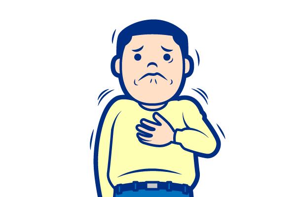 高血圧の症状:狭心症・心筋梗塞