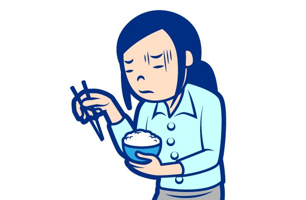 内科が対応する症状:食欲低下