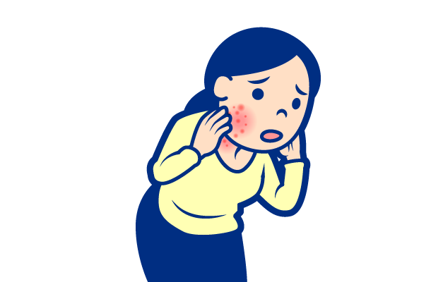 皮膚科が対応する症状:発疹・肌のぶつぶつ