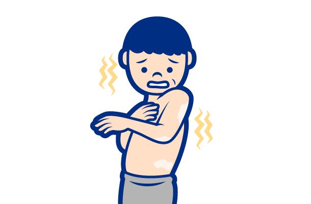 皮膚科が対応する症状:乾燥・ひび割れ