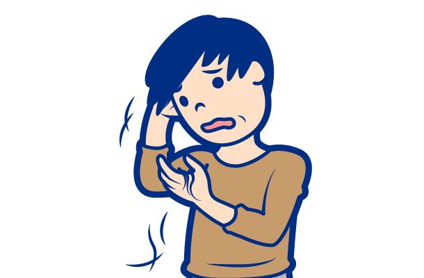皮膚科が対応する症状:脱毛