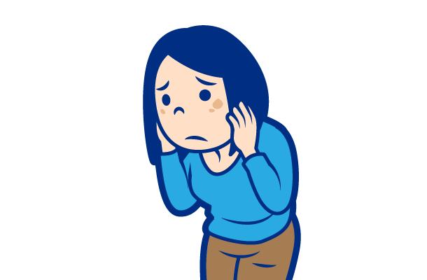 肌荒れの症状:くすみ