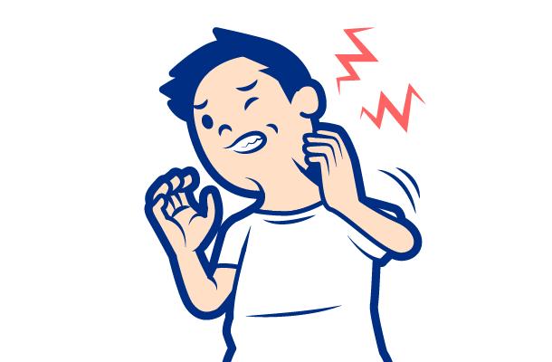 かぶれの症状:かゆみ