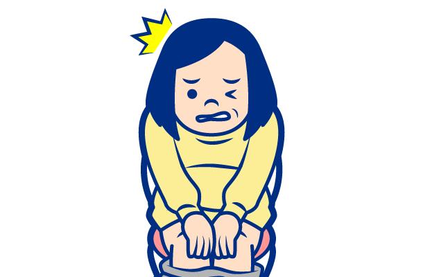 女性の膀胱炎の症状:排尿時の痛み
