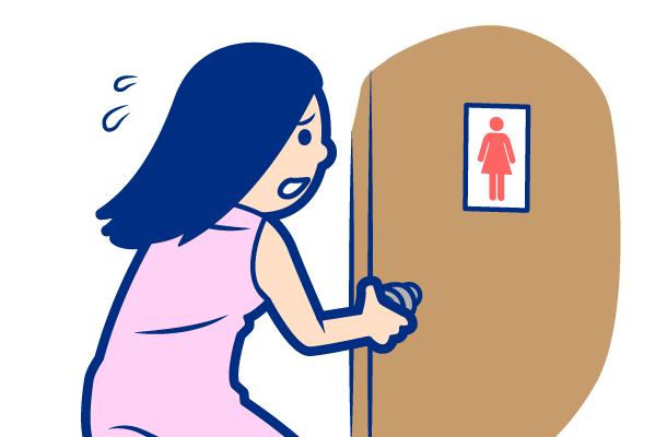 女性の膀胱炎の症状:頻尿