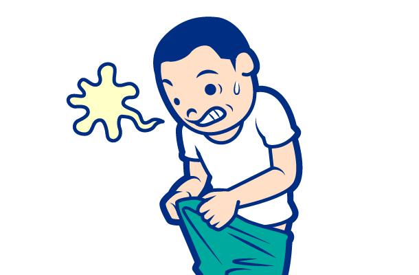 男性のクラミジア性尿道炎の症状:尿道から出る膿